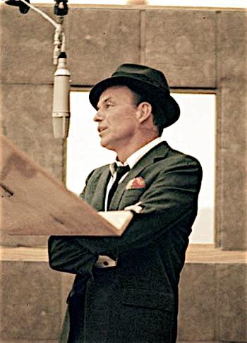 Sinatra Lapel Pin