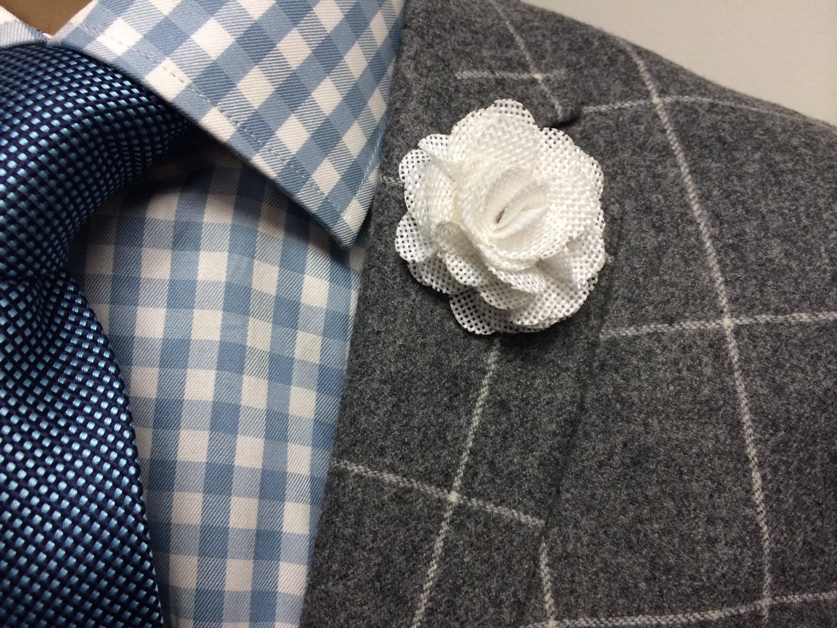 Pacino white rose flower lapel pins lapel flower pin white white lapel flower mightylinksfo
