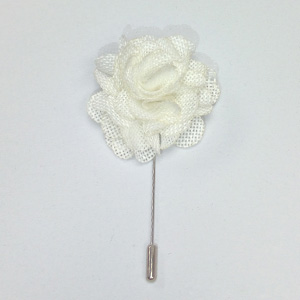 White Lapel Pin